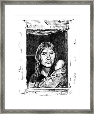 Juliet Framed Print
