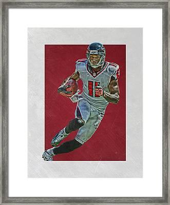 Julio Jones Atlanta Falcons Art 2 Framed Print