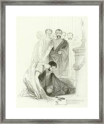 Julius Caesar, Act IIi, Scene I Framed Print