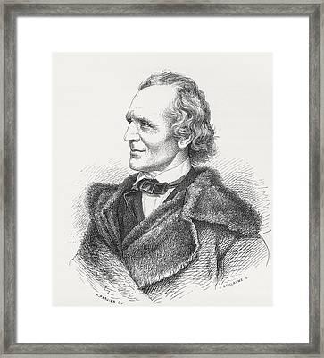 Julius Schnorr Von Carolsfeld, 1794 Framed Print by Vintage Design Pics