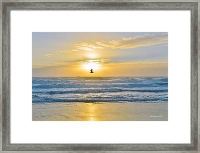 July 30 Sunrise Nh Framed Print