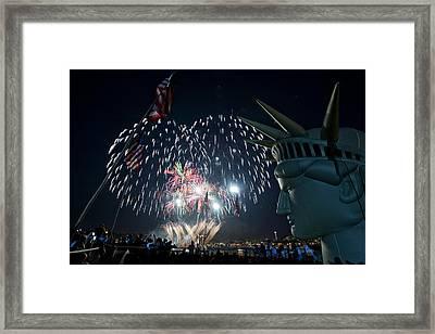 July 4th 2009 B168 Framed Print by Yoshiki Nakamura