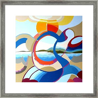 July Framed Print by Carola Ann-Margret Forsberg
