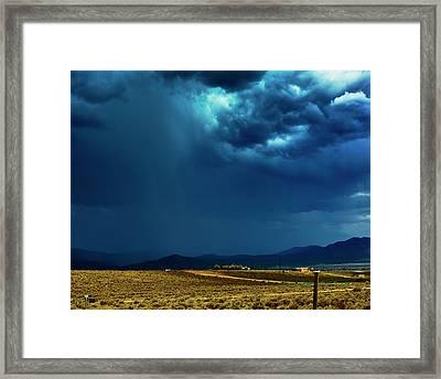 July Monsoons Framed Print