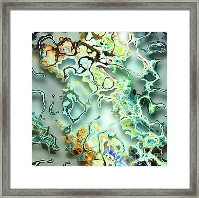 Jumble Of Memories Framed Print