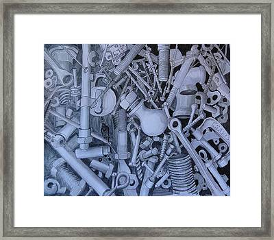 Jumble Framed Print by Susan Anderson