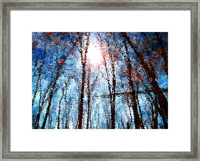 Jumbled Waters Framed Print