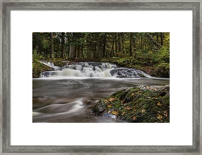 Jumbo Falls Framed Print