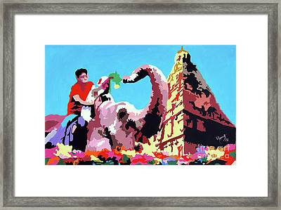 Jumbo Jurney Framed Print