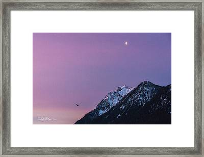 Jumbo Sunrise Framed Print