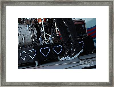 Jump Framed Print by Billie-Jo Miller