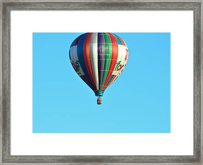 Jump For Joy Framed Print by Jan Amiss Photography