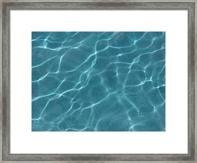 Jump In Framed Print