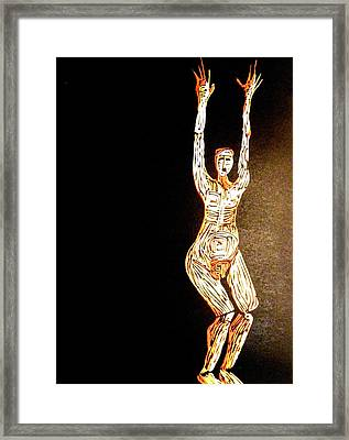 Jump Framed Print by Patricia Bigelow