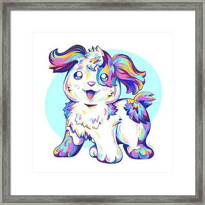 Jumped Through A Rainbow Framed Print