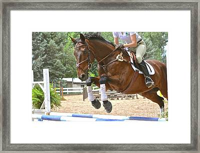 Jumper Framed Print