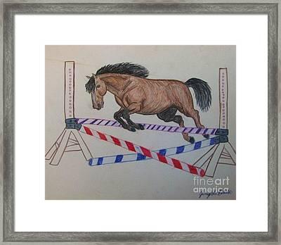 Jumper Framed Print by Jamey Balester