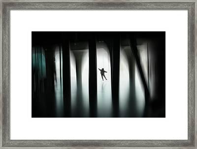 Jumping For Joy Framed Print by Vito Guarino