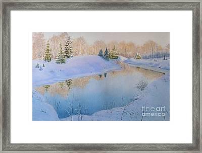 Junction Creek Framed Print by Lynn Quinn
