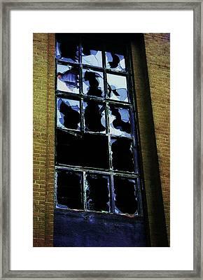 Framed Print featuring the photograph Junction by Cyryn Fyrcyd