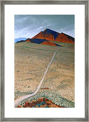 Framed Print featuring the painting June 1934 by Kerry Beverly