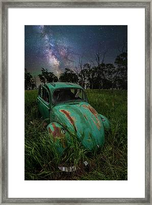 Framed Print featuring the photograph June Bug by Aaron J Groen