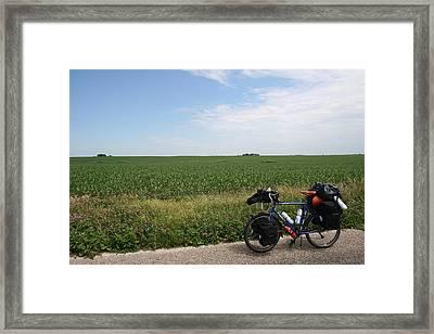 June Field Tourer Framed Print