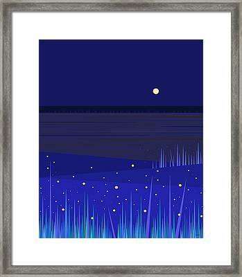 June Nights   Framed Print