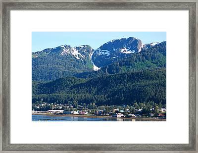 Juneau Framed Print by Terence Davis