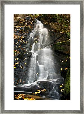 Framed Print featuring the photograph Juney Whank Falls by Bob Decker