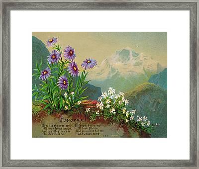 Jungfrau Framed Print by Helga von Cramm