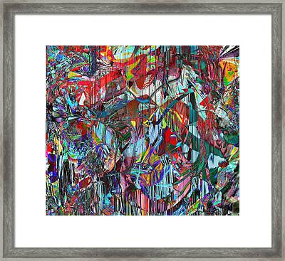 Jungle Framed Print by Dave Kwinter