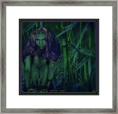 Jungle Fairy Framed Print