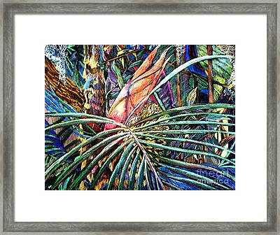 Jungle Fever Framed Print by Mindy Newman
