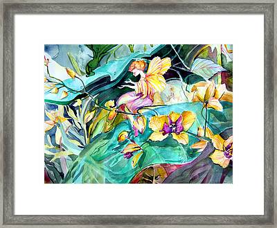 An Easter Angel Framed Print by Mindy Newman