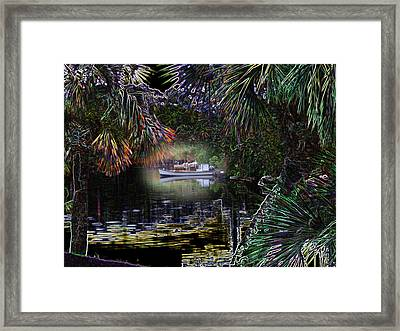 Framed Print featuring the photograph Jungle Glow by Rick McKinney
