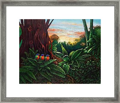 Jungle Harmony 3 Framed Print
