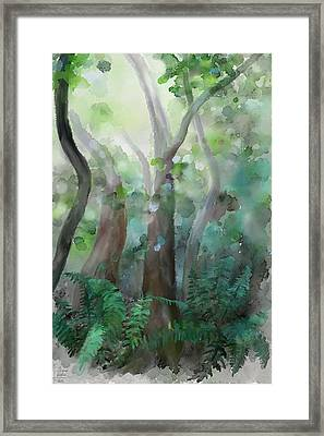Jungle Framed Print by Ivana Westin