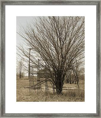 Jungle Jim - Days Gone By Framed Print