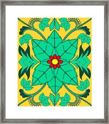 Jungle Mania Framed Print