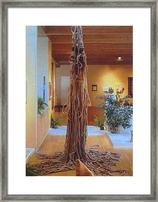 Jungle Spirit Framed Print by Bernard Goodman