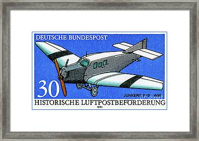 Junkers F 13 Framed Print