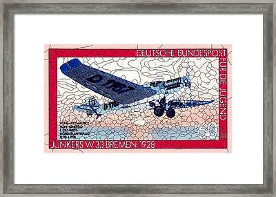 Junkers W33 Bremen Framed Print