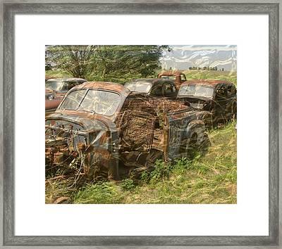 Junkyard - Dreams Framed Print
