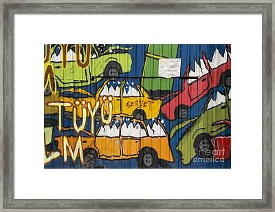 Junkyard Art Framed Print