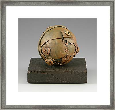 Junkyard Dog Ball Framed Print