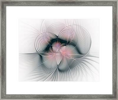 Junos Mercy - Fractal Art Framed Print
