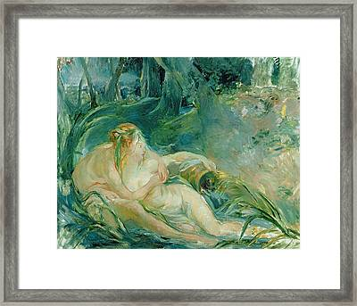 Jupiter And Callisto Framed Print