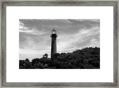 Jupiter Inlet Lighthouse - 8 Framed Print