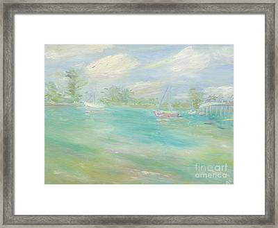 Jupiter Intra-coastal Framed Print